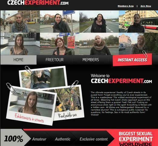 CzechExperiment.com – SITERIP image 1