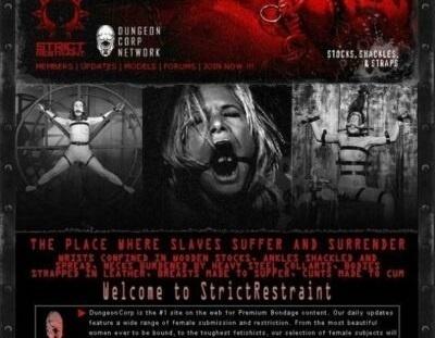 StrictRestraint.com – SITERIP